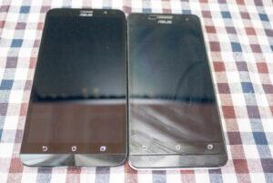ASUS ZenFone GoとZenfone5