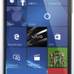 VAIO Phone Biz WindowsOS搭載のビジネスモデル