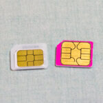 iijmio SIMカードのサイズを交換してみました