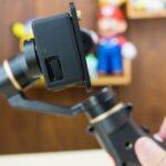 スマホ用のジンバルにアクションカメラを取り付けるアダプタをゲット