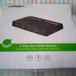 Ugreen のHDMI切替器リモコン付きを中国から通販で買ってみました