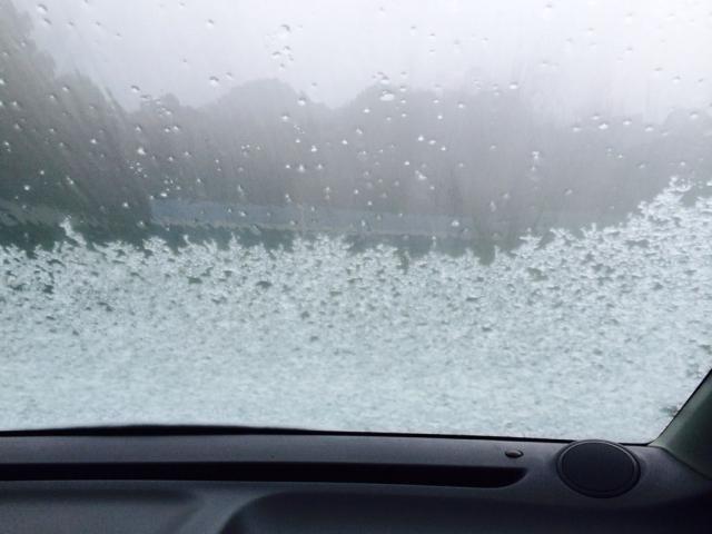 フロントガラスの凍結